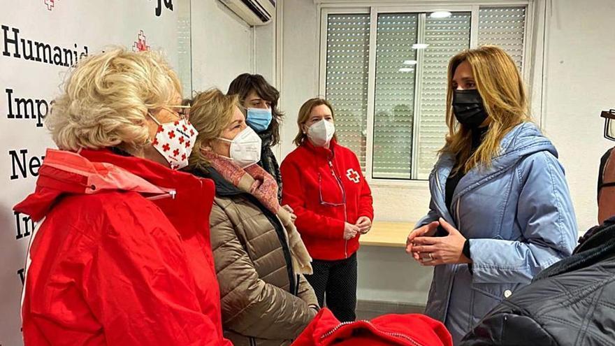 Alimentos y productos de higiene para 1.500 familias en Murcia