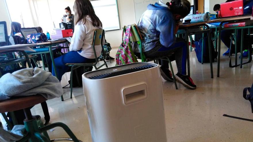 La Xunta veta los purificadores de aire para las aulas en los centros educativos