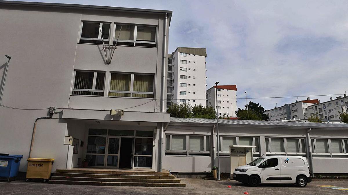 Vista del colegio Ramón de la Sagra. |   // VÍCTOR ECHAVE