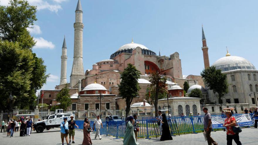 Santa Sofía será de nuevo una mezquita