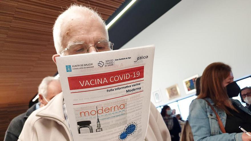 Aviso del COVID: suben los contagios y los hospitalizados en Galicia