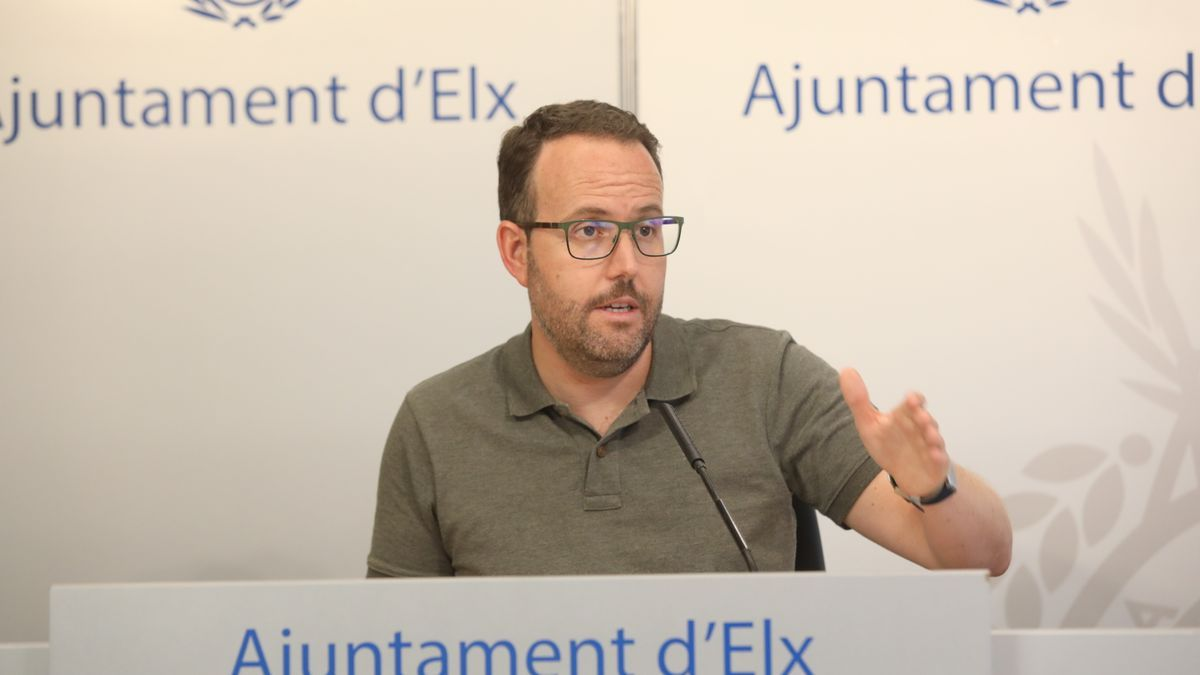 El concejal Héctor Díez