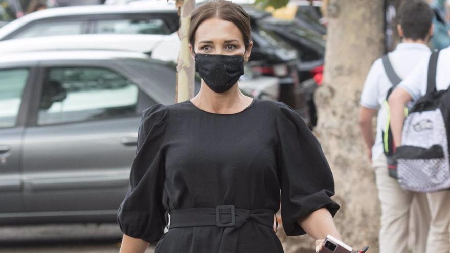 Paula Echevarría, la mami más fashion en la vuelta al cole
