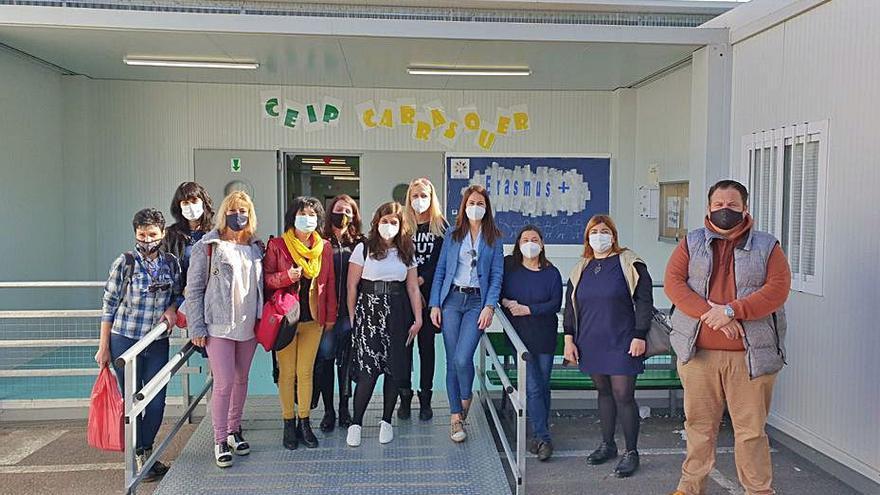 El colegio Carrasquer de Sueca se abre a maestros búlgaros