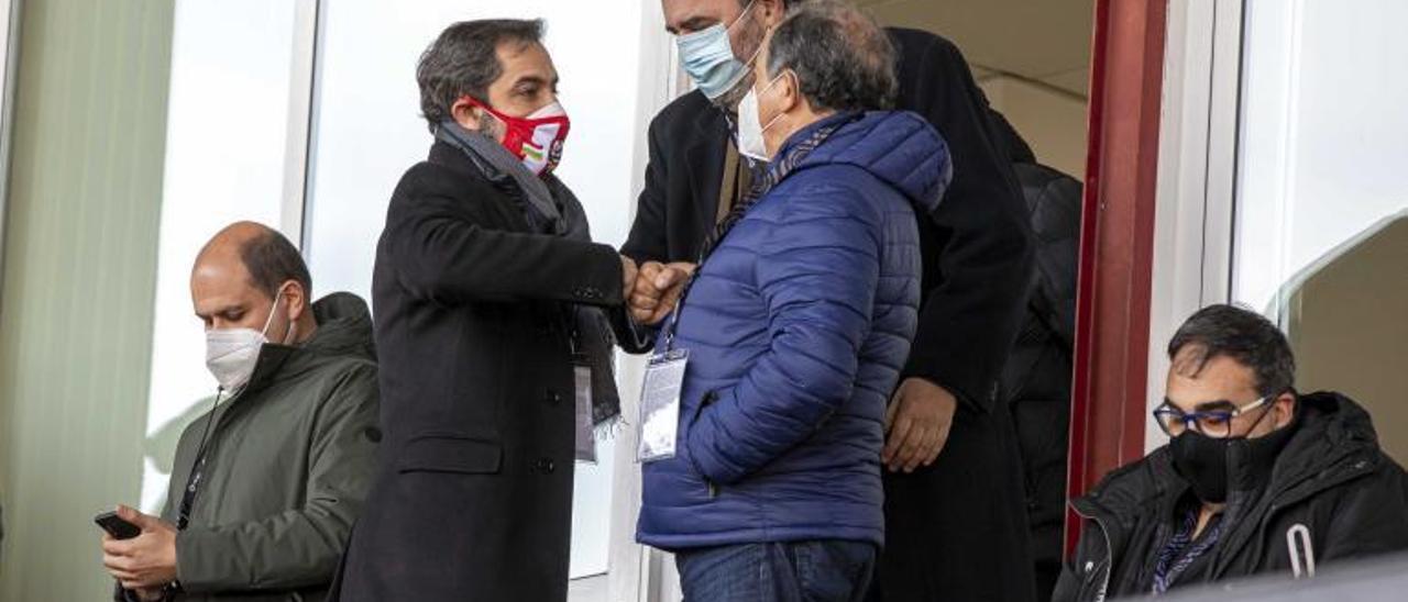 Federico González, de vuelta en Oviedo con instrucciones de Arturo Elías