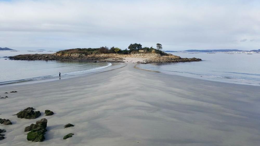 Playa de O Santo - Coviña (Marín)