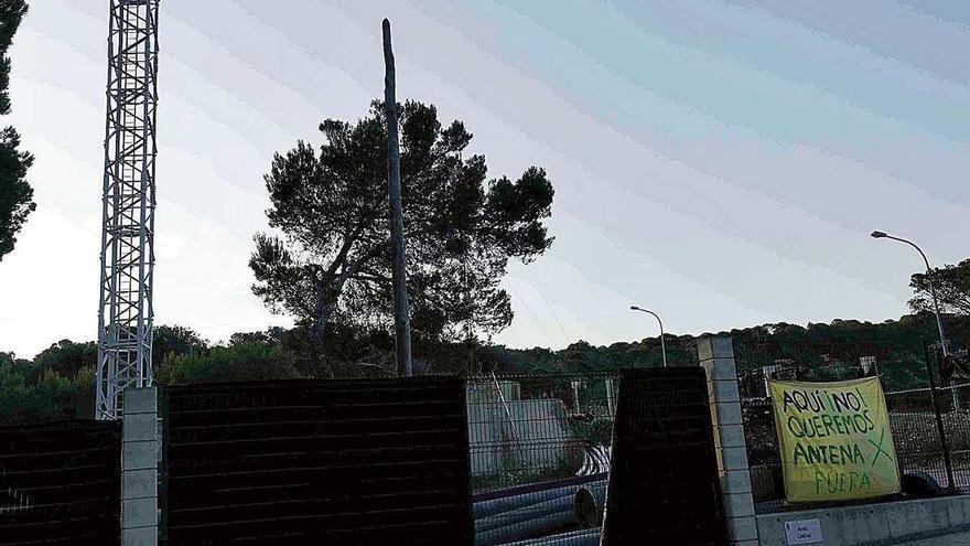 Calvià rechaza reubicar dos antenas de telefonía de El Toro y Portals Nous