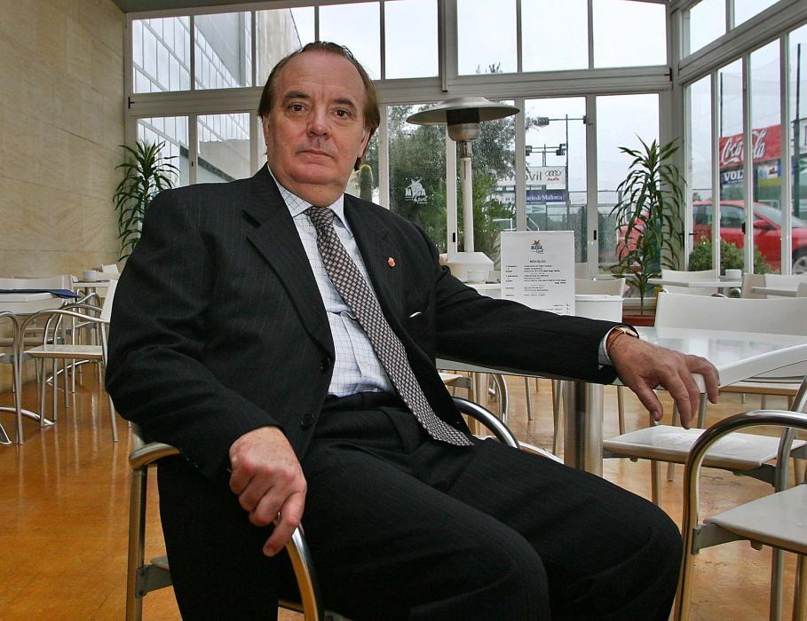 El empresario fue accionista mayoritario del RCD Mallorca.