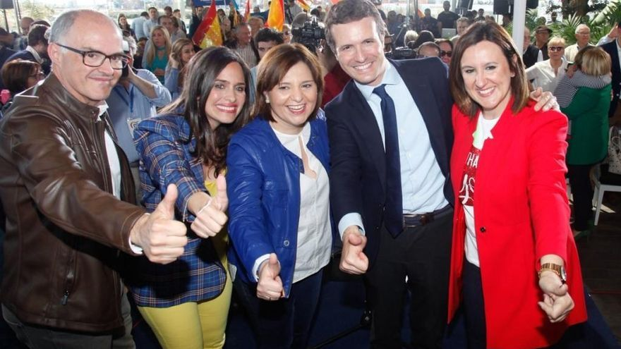 El PP pide concentrar el voto de la derecha para liderar un gobierno con Cs y los ultras