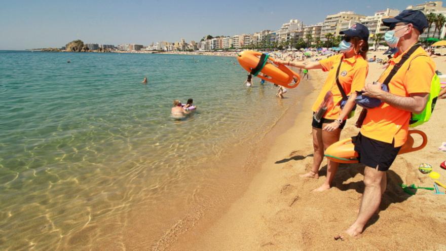 Blanes comença la temporada de bany amb 41 efectius a les platges i el blindatge de cala Bona