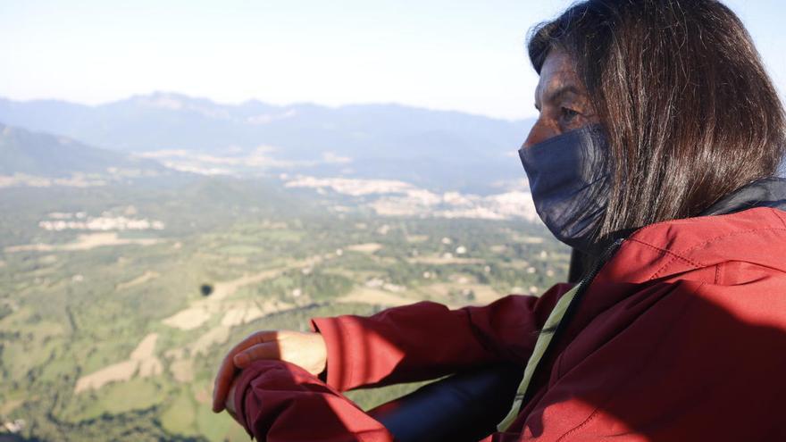 Volar en globus en temps de covid-19: mascaretes, desinfecció i mampares de seguretat