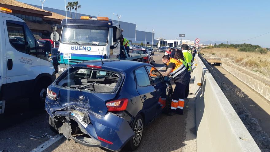 Accidente múltiple en Vila-real