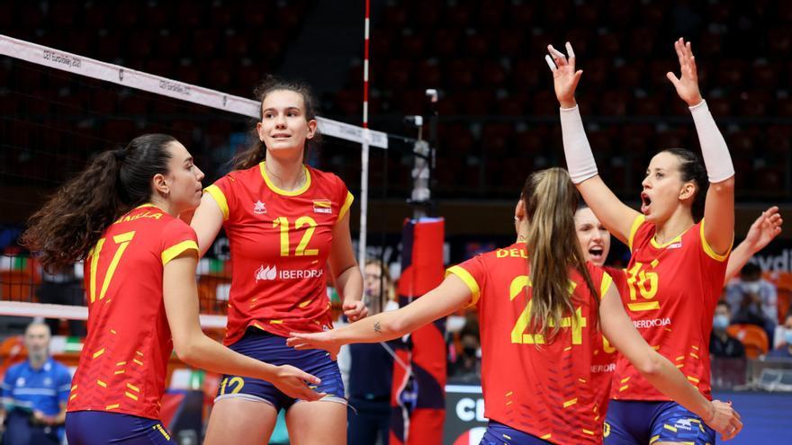 Amarga despedida de España en el Europeo de voleibol