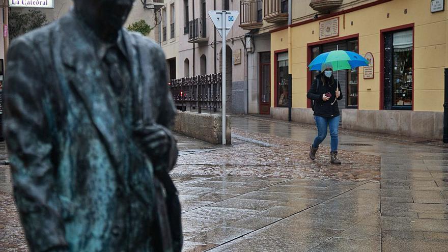 La lluvia llega a Zamora y suben las temperaturas hasta 10 grados