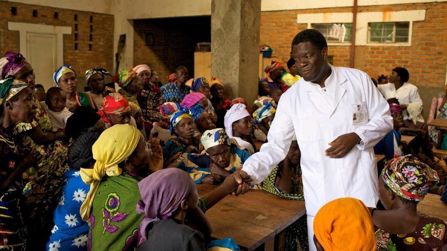 El nobel congoleño Denis  Mukwege recibe el lunes el Premio Balmis