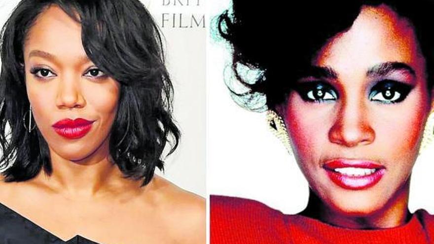 Naomi Ackie se mete en la piel de Whitney