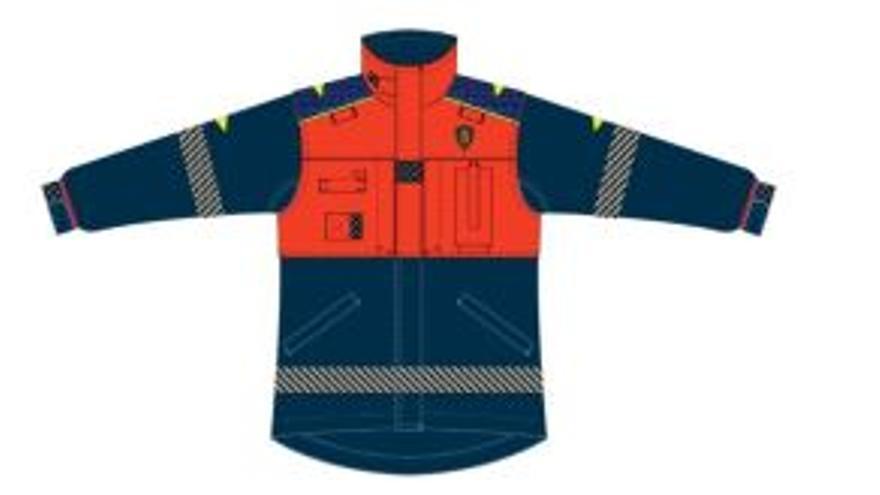 Los bomberos estrenarán el próximo año nuevo vestuario
