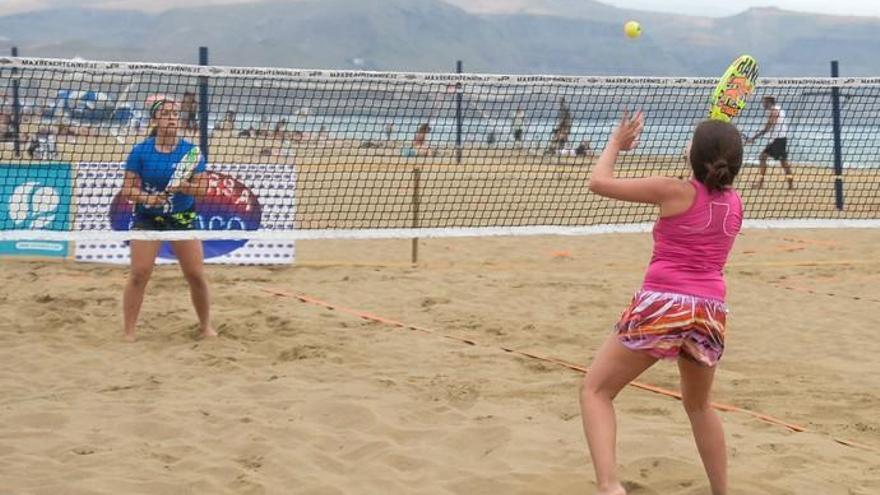 Tenis playa en Las Canteras