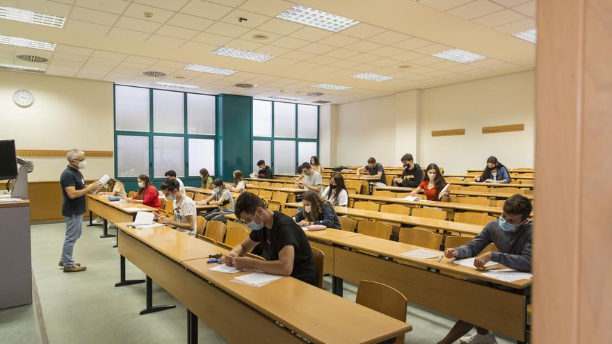 El 78,63% de alumnos aprueba la convocatoria extraordinaria de Selectividad en Castellón