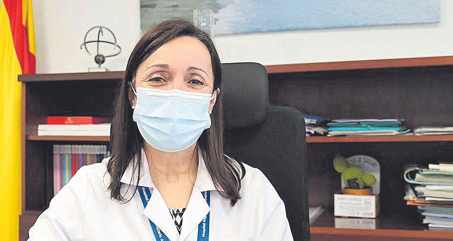 María del Mar Vázquez, gerente del Hospital Regional