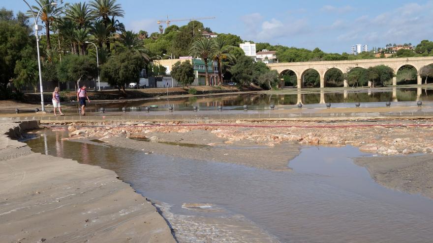 Los ecologistas proponen recuperar la albufera de la playa de Campoamor en Orihuela Costa