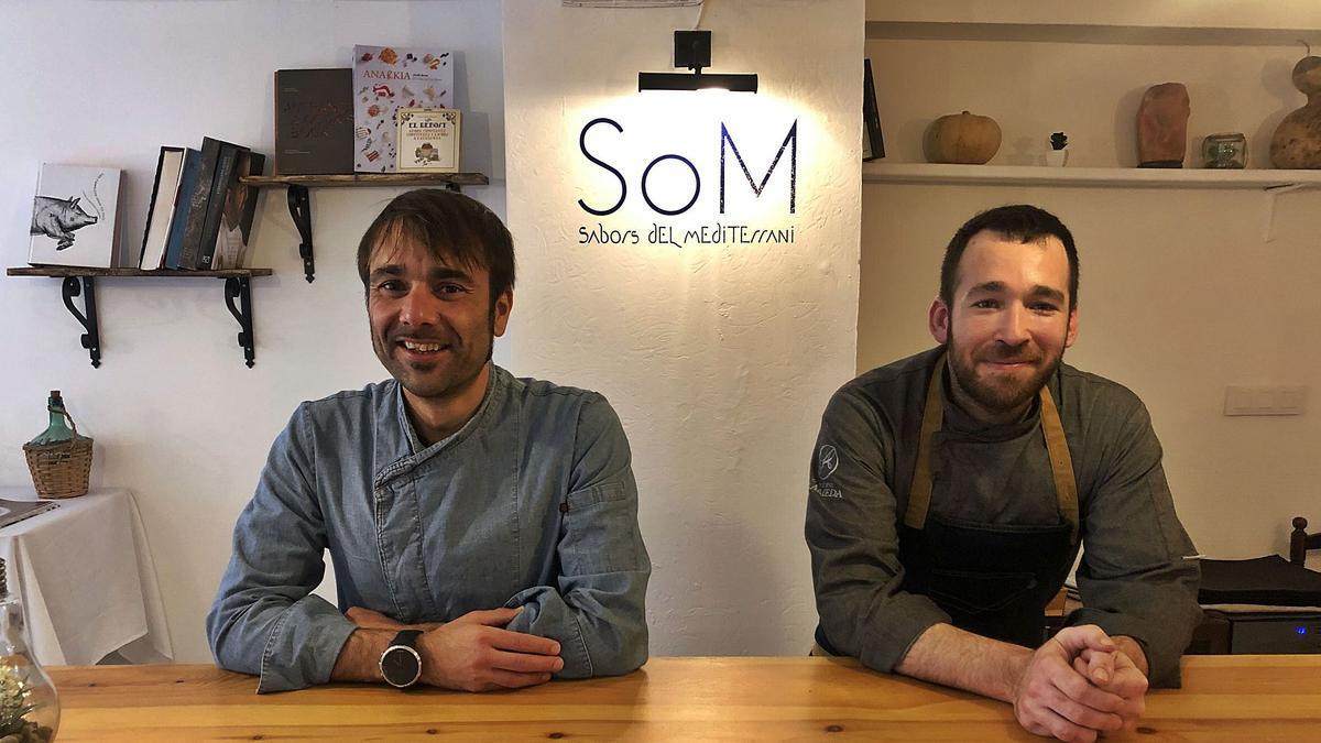 Josep Boix y Joan Moratalla.