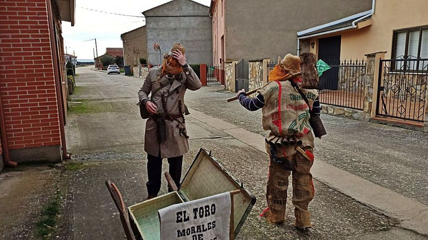 Morales de Valverde vive los carnavales de una forma atípica
