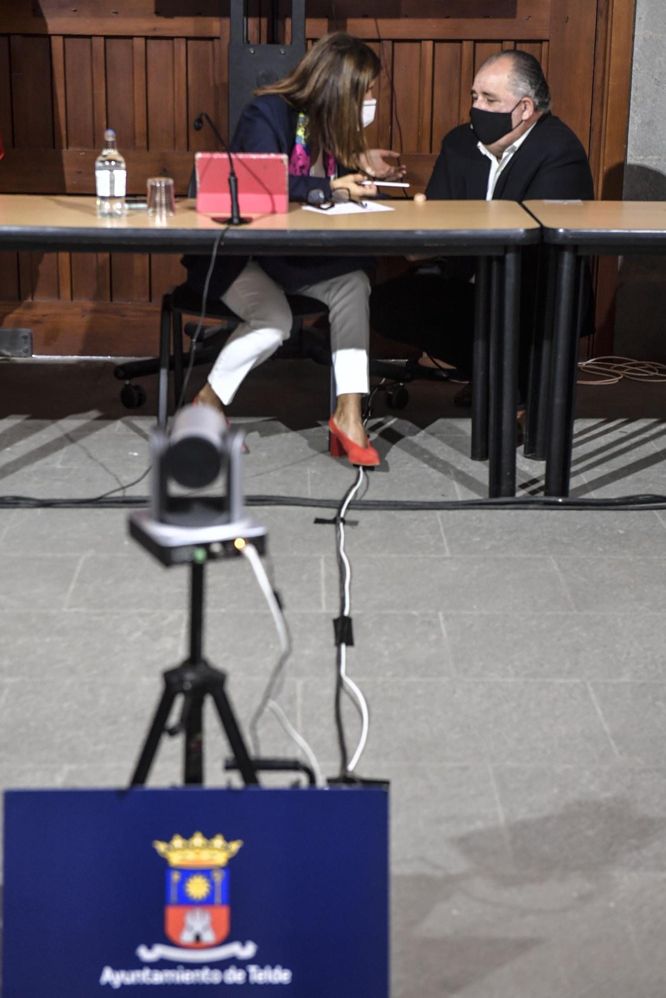 Pleno del Ayuntamiento de Telde (1/7/2021)