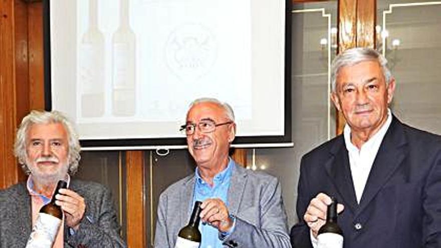 Un vino de la D.O. Ribeiro, en la promoción del Camino de Santiago por Ourense