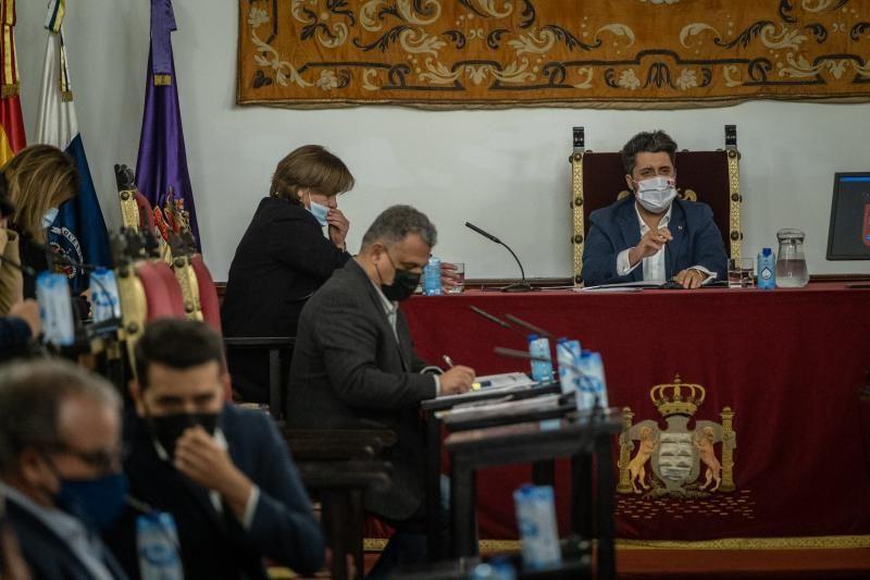 Pleno sobre inmigración del Ayuntamiento de La Laguna