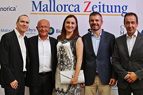 So feierte die Mallorca Zeitung auf Castell Miquel