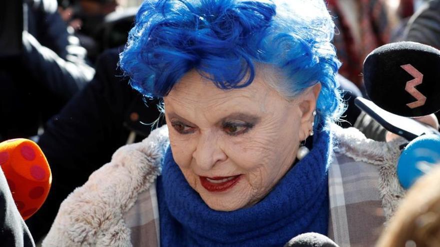 La Fiscalía pide dos años de cárcel para Lucía Bosé por apropiarse de un Picasso