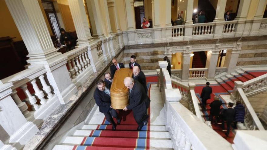 Muere Vicente Álvarez Areces: Capilla ardiente en la Junta del Principado