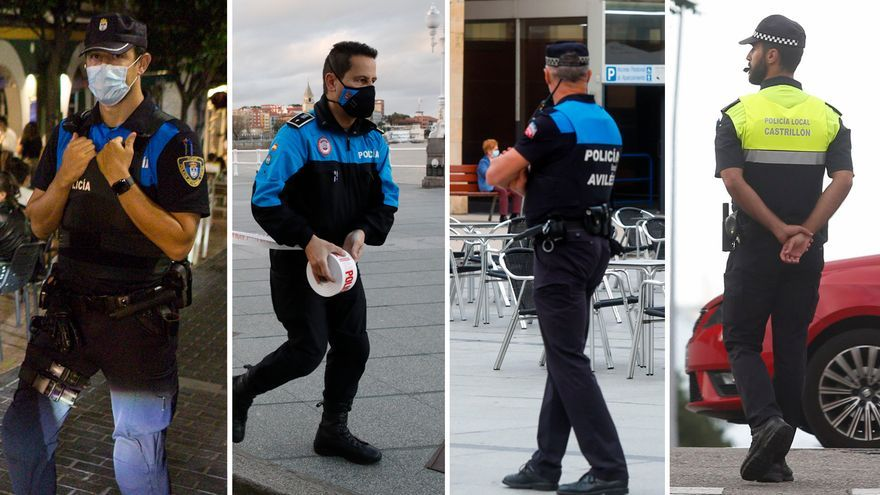"""La nueva uniformidad de las policías locales, moderna aunque """"intimidante"""""""