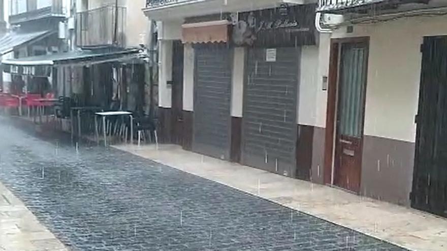 La lluvia no abandona Castellón y seguirá presente el sábado