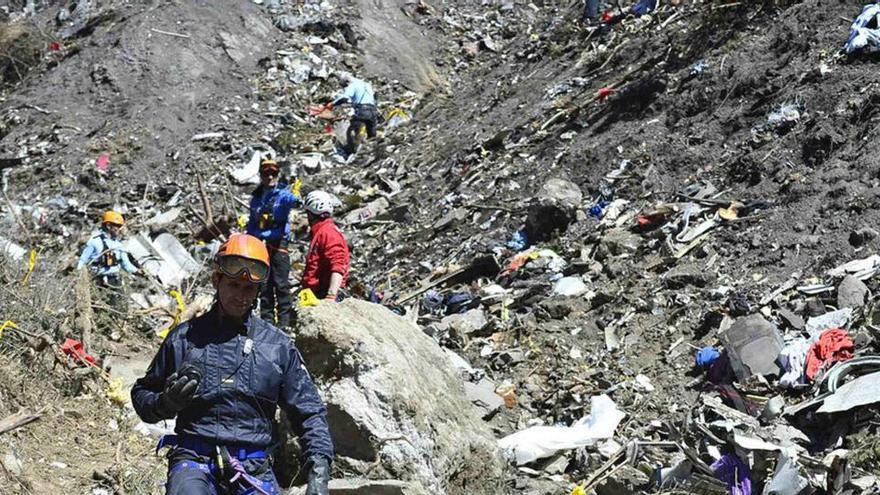 Germanwings, condenada a indemnizar con 1,5 millones a familiares de las víctimas