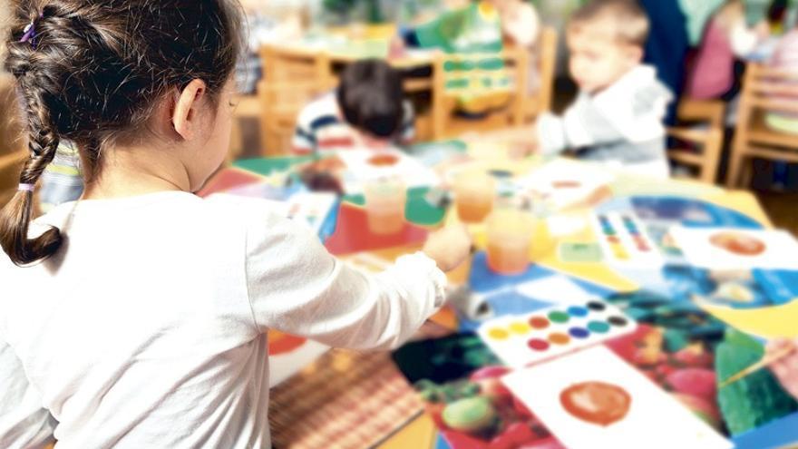 Educación permitirá escolarizar a niños de un año el próximo curso