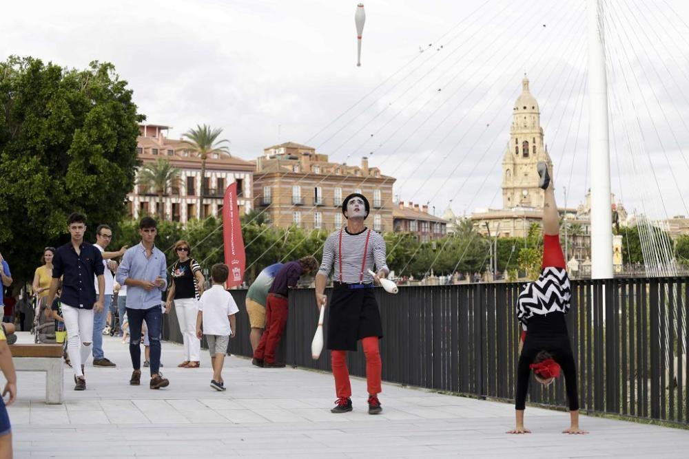 ´Murcia Río´lleva la magia del circo a orillas del Segura