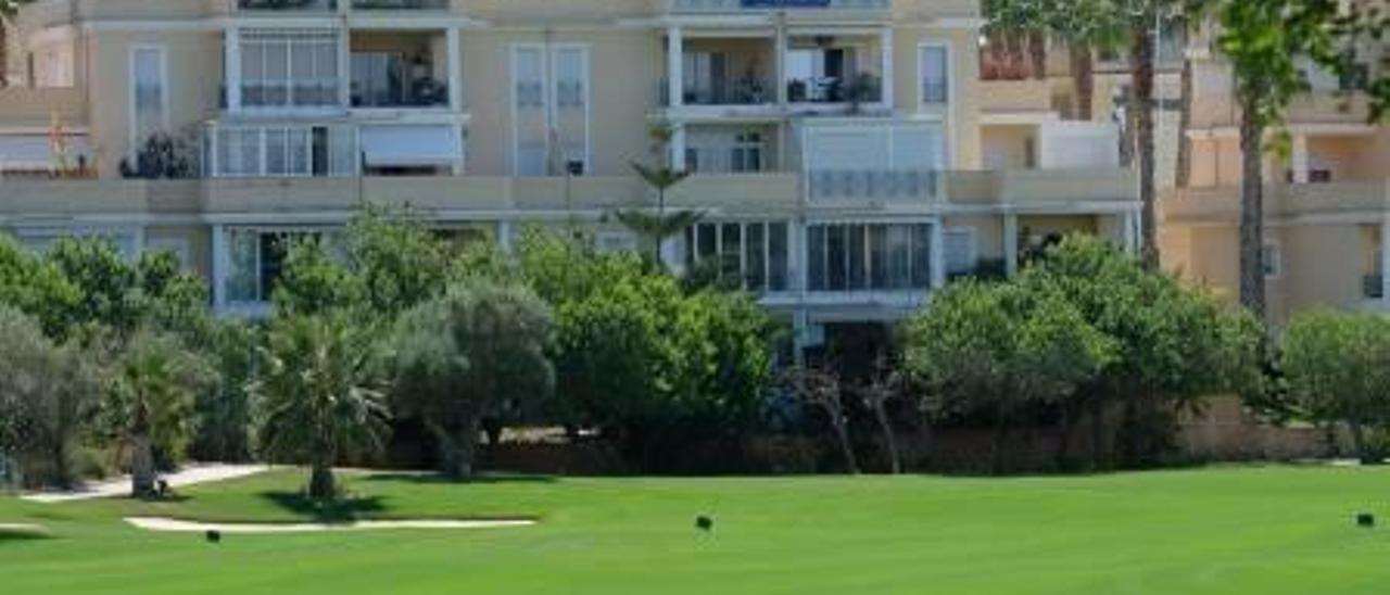 Apartamentos en la zona del Golf de Alicante, una de las áreas de Alicante donde más han subido los alquileres.
