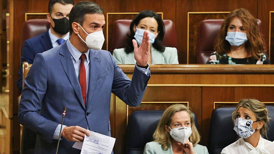 Sánchez es veu obligat a frenar Otegi i modera el xoc amb Casado per ETA