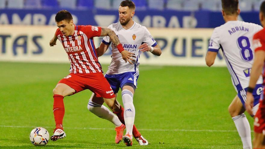 La crónica del empate del Sporting en Zaragoza: Un punto de mejora