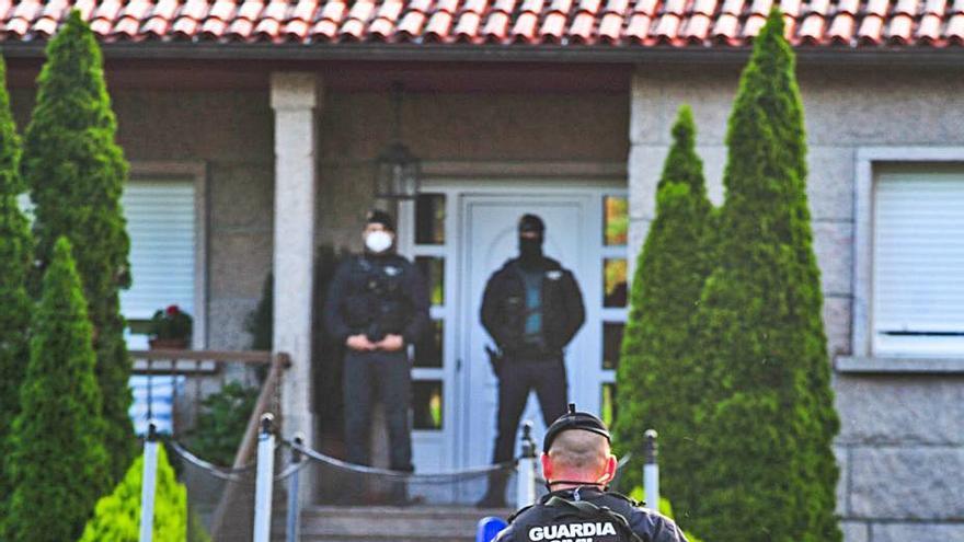 Golpe al tráfico de heroína en Galicia: redada que afecta a Pontevedra