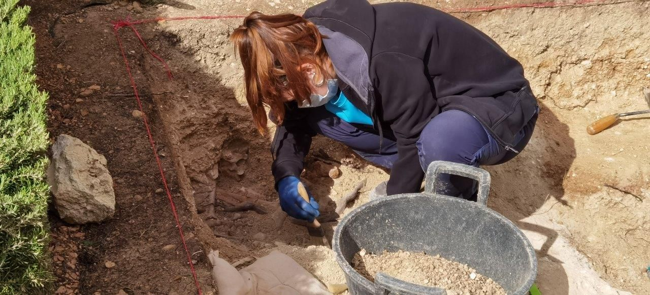 Comienza la segunda fase de excavaciones en la fosa de Porreres