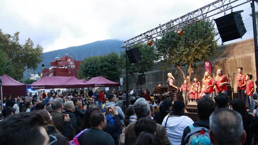 Roscón de Reyes gigante en La Orotava, enero de 2020