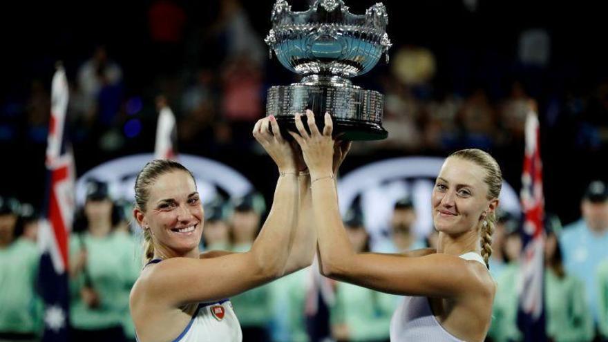 Mladenovic y Babos se coronan en el doble de Australia