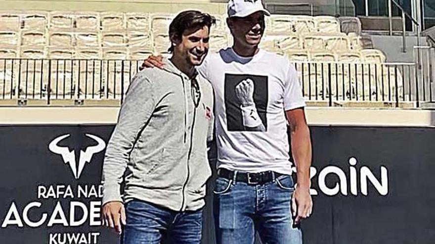 Rafa Nadal inaugura hoy su academia en Kuwait