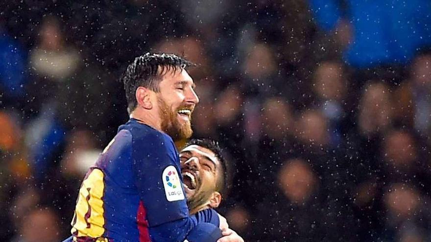 El Barça rompe el maleficio de Anoeta