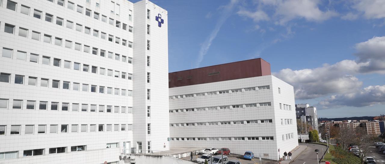 El Hospital San Agustín de Avilés.