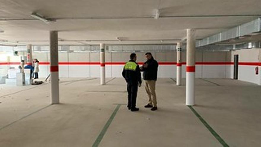 El Ayuntamiento de Coria prevé licitar, por segunda vez, las 36 plazas del parking subterráneo