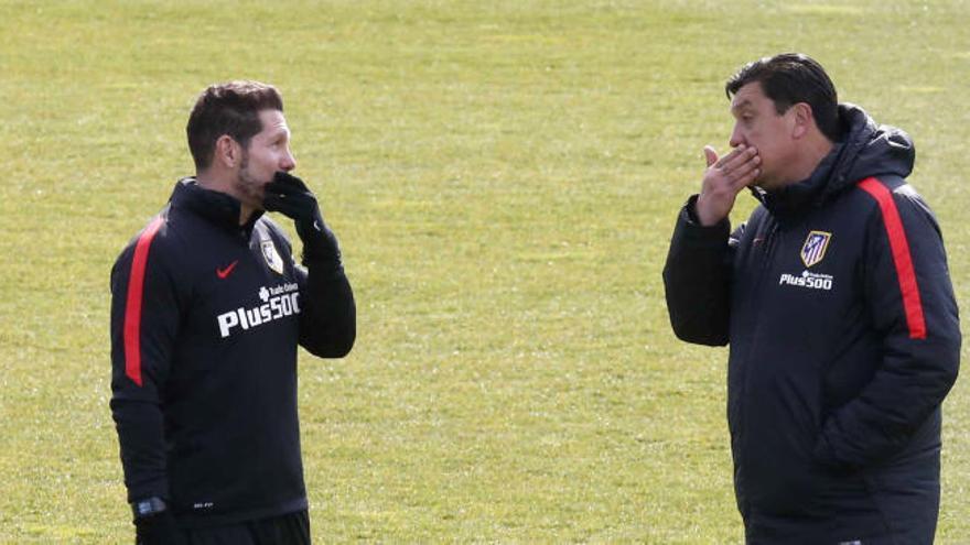 """El """"Mono"""" Burgos dejará el Atlético a final de temporada"""